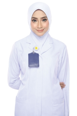 Tudung Uniform Nurse Plain (S)
