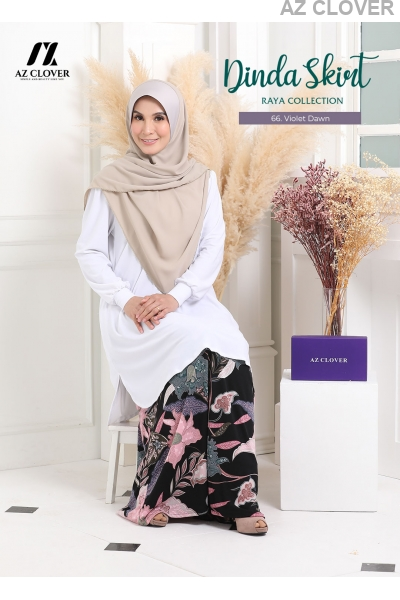 DINDA SKIRT S66 VIOLET DAWN