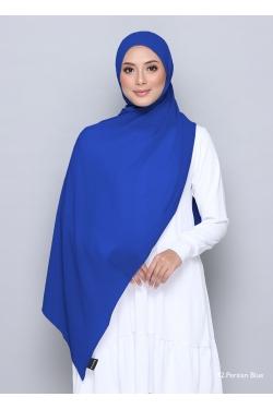 TUDUNG WIDE SHAWL 42 PERSIAN BLUE