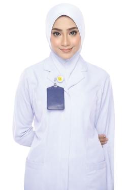 Tudung Uniform Nurse Plain (S)